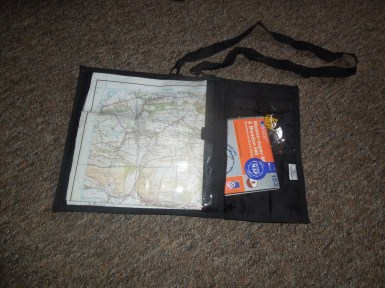 Map Holder Carry Case