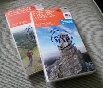 Shropshire OS Maps