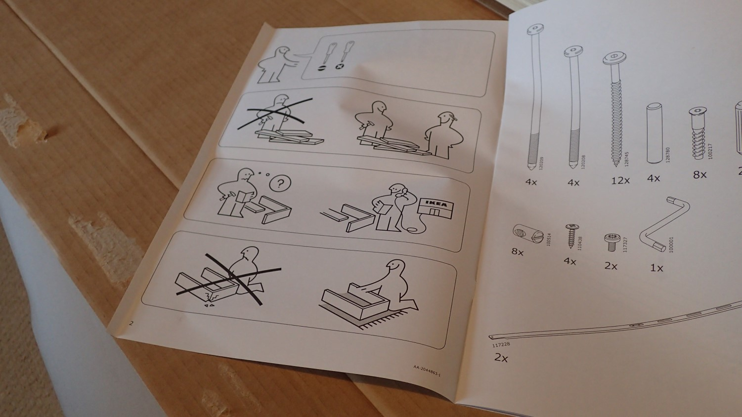 Ikea Neiden Bed Assembly Olly Writes